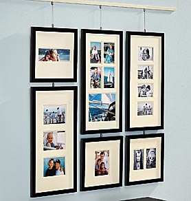 Как оформить фотографии своими руками без рамок